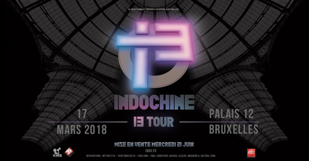 Indochine - 13 TOUR