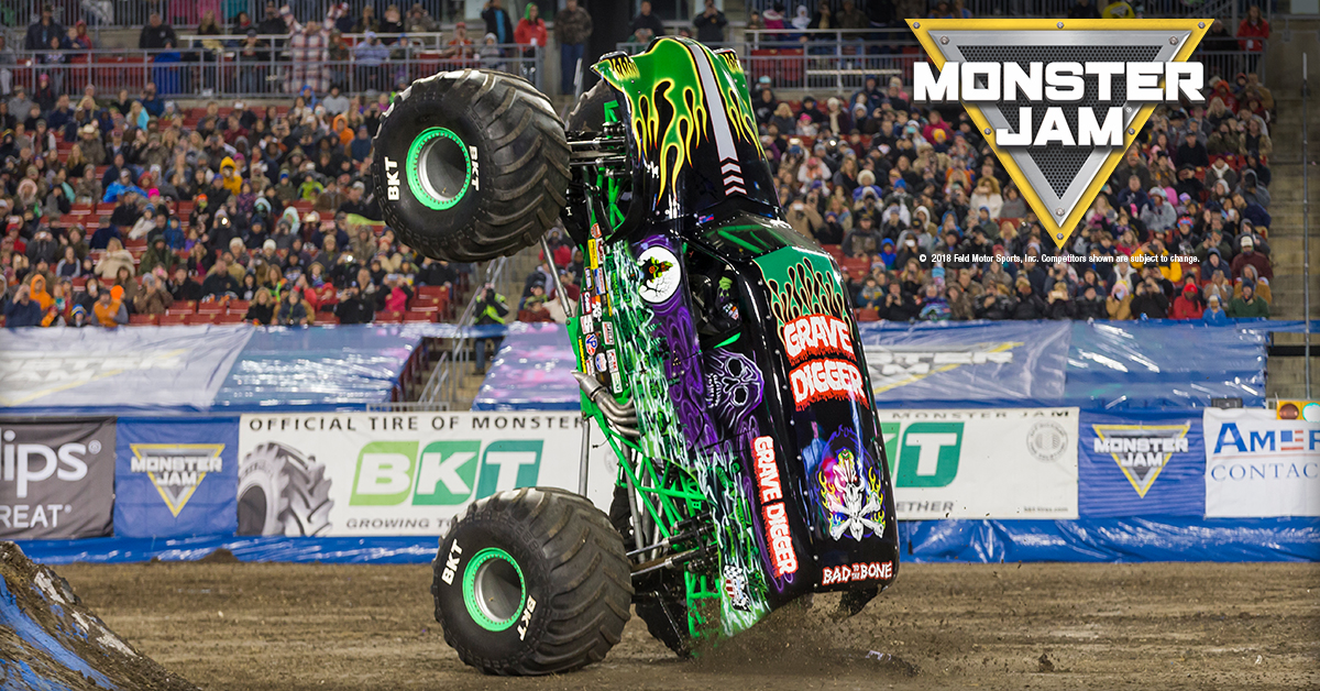MONSTER JAM® RETURNS TO ANTWERP – MB Presents