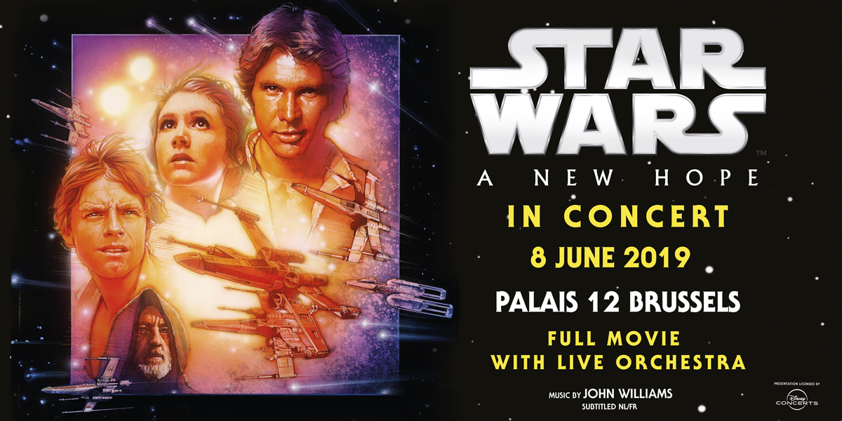 Star Wars In Concert Episode Iv A New Hope Mb Presents